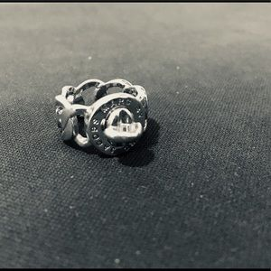 Sterling Silver Marc by Marc Jacobs Logo Ring